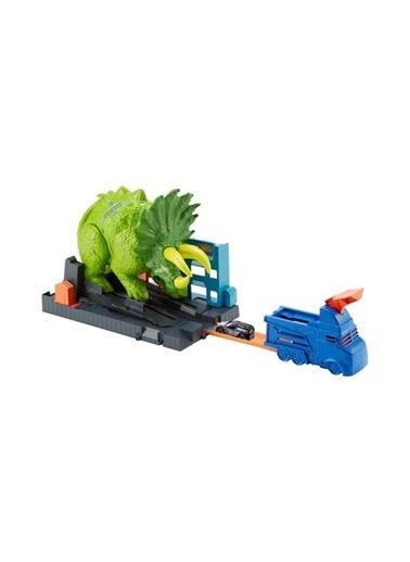 Hot Wheels Hot Wheels Triceratops Saldırısı Oyun Seti GBF97 Renkli